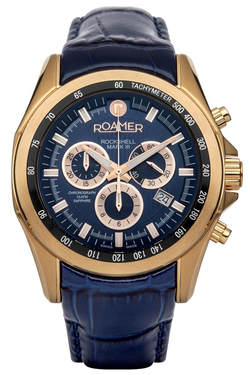 Roamer Mens Rockshell MRK III Watch 220837 49 45 02