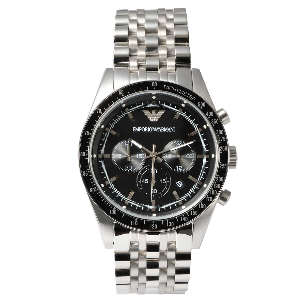 29fd9a3bc49 Emporio Armani Mens Stainless Steel Watch AR5988