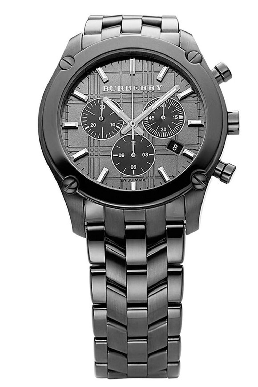 burberry chronograph watch