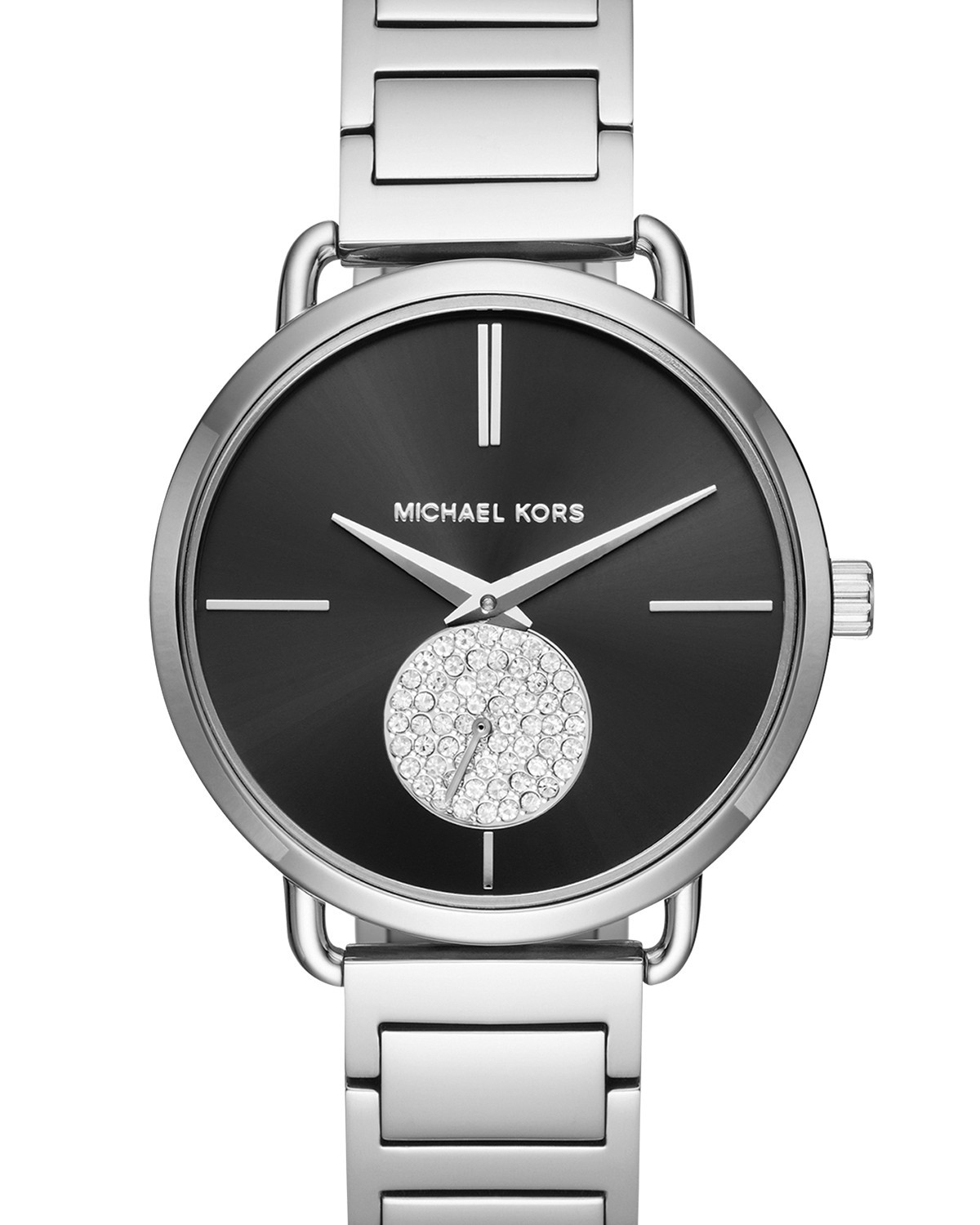 d95617019b41 Michael Kors Ladies Silver Portia Watch MK3638