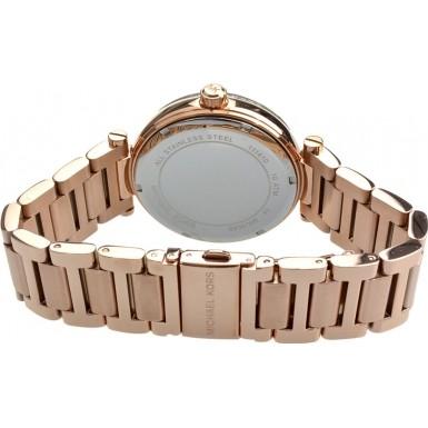ea16aa2f57ea Michael Kors Ladies Rose Gold Skylar Watch MK6086