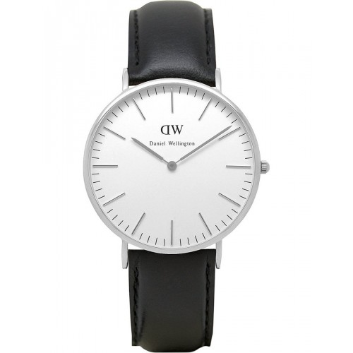 Daniel Wellington Mens Sheffield Silver Watch 0206DW