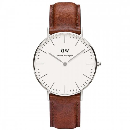 Daniel Wellington Ladies Brown St Mawes Watch 0607DW