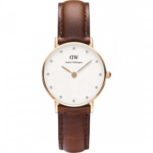 Daniel Wellington Ladies Brown St Mawes Watch 0900DW