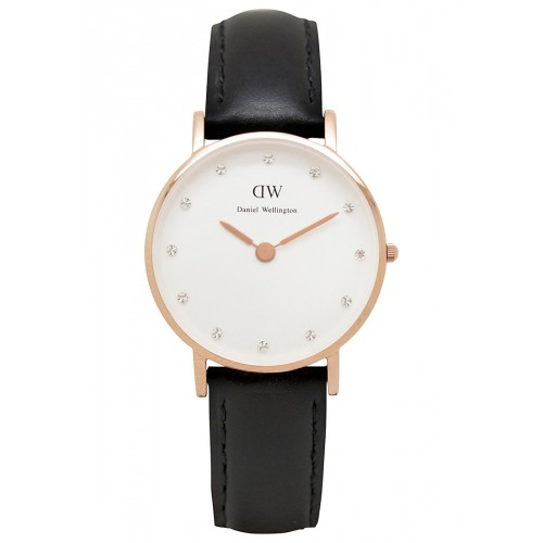 Daniel Wellington Ladies Black Sheffield Watch 0901DW