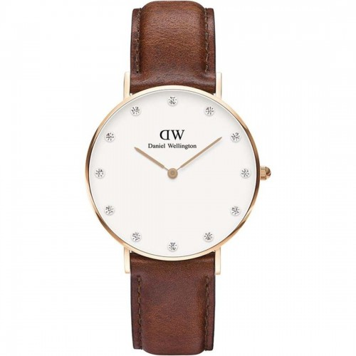 Daniel Wellington Ladies St Mawes Brown Watch 0950DW