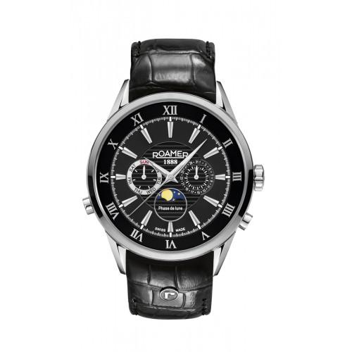 Roamer Mens Superior Moonphase Watch 508821 41 53 05