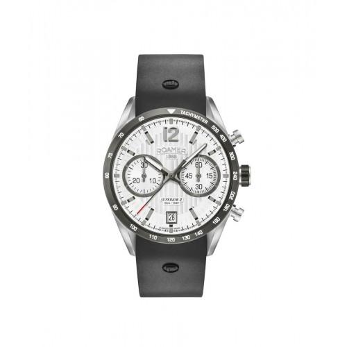 Roamer Mens Superior Chrono II Watch 510902 41 14 05