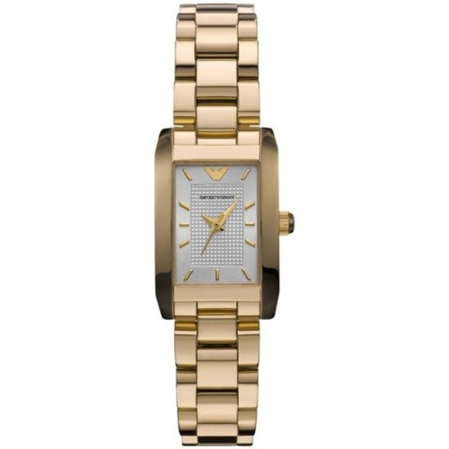 Emporio Armani Ladies Donna Gold Watch AR0360