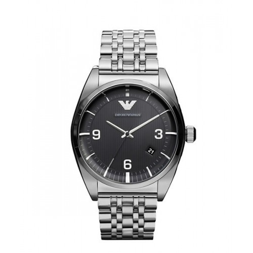 Emporio Armani Mens Franco Stainless Steel Watch AR0369
