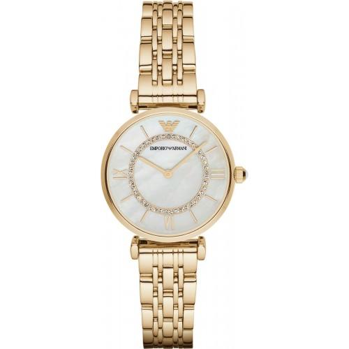 Emporio Armani Slim Ladies Gold Watch AR1907