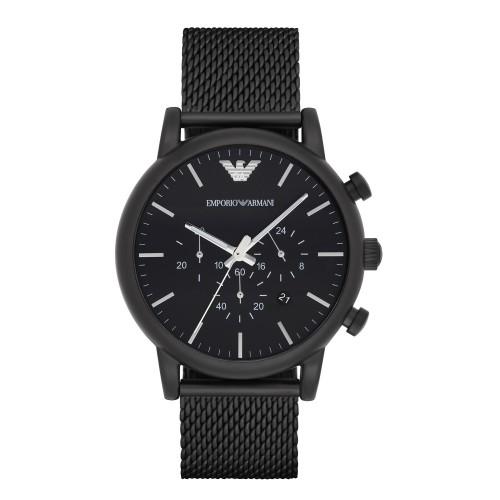 Emporio Armani Mens Mesh Sport Chronograph Watch AR1968
