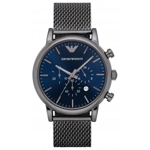 Emporio Armani Mens Mesh Sport Chronograph Watch AR1979