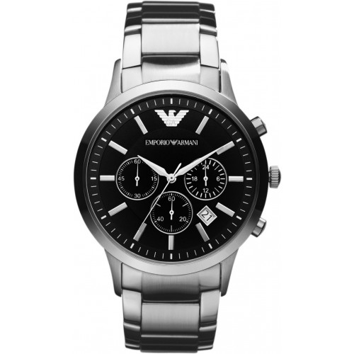Emporio Armani Mens Stainless Steel Watch AR2434