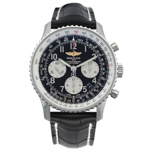 Breitling Navitimer 01 Mens Leather Watch AB012012.BB02.743P.A20BA.1