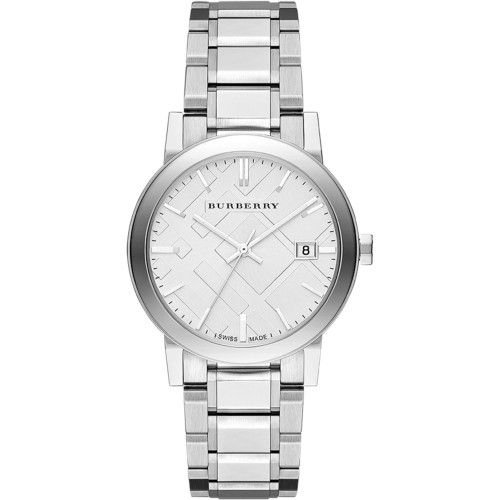 Burberry Mens The City Stainless Steel Watch BU9000