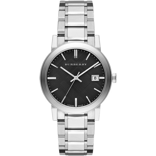 Burberry Mens The City Stainless Steel Watch BU9001