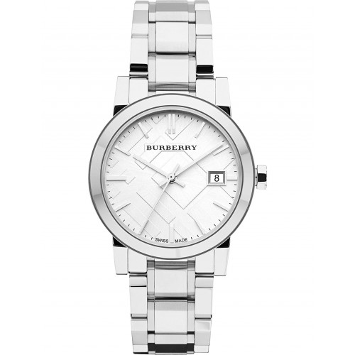 Burberry Ladies The City Stainless Steel Watch BU9100