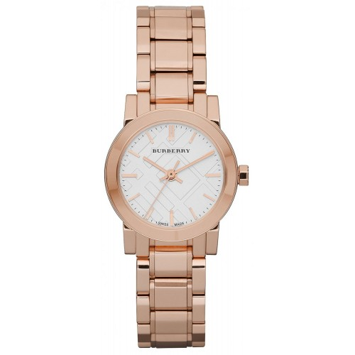Burberry Ladies The City Rose Gold Watch BU9204