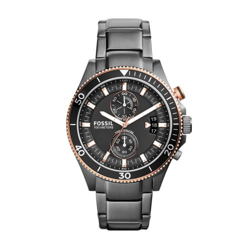 Fossil Mens Grey Wakefield Watch CH2948
