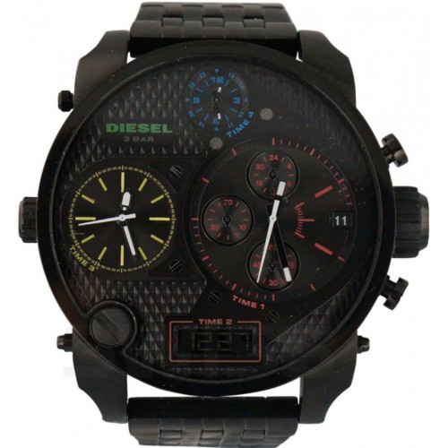 Diesel Mr Daddy Black Stainless Steel Mens Watch DZ7266