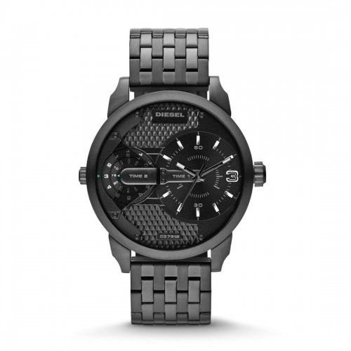 Diesel Mini Daddy Black Stainless Steel Mens Watch DZ7316