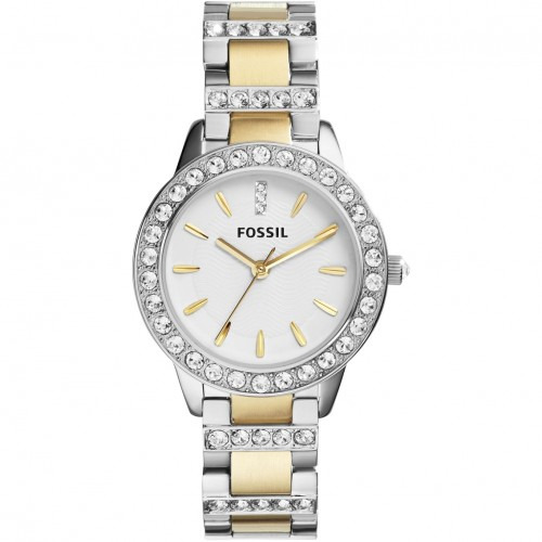 Fossil Ladies 2 Tone Watch ES2409