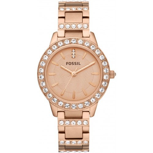 Fossil Ladies Rose Gold Watch ES2410