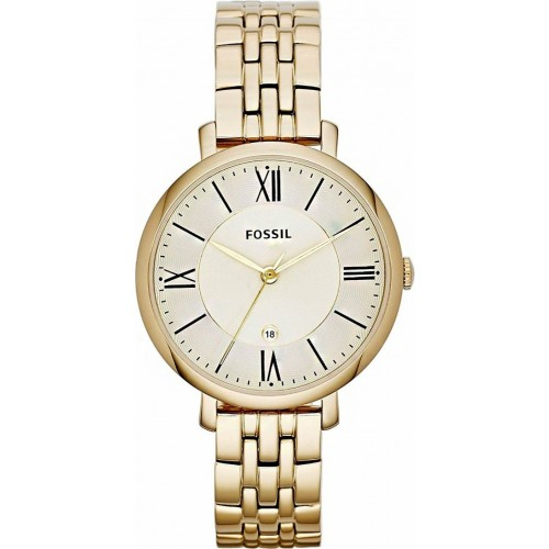Fossil Ladies Gold Jacqueline Watch ES3434
