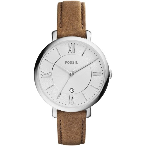 Fossil Ladies Brown Leather Jacqueline Watch ES3708