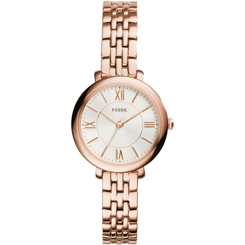 Fossil Ladies Jacqueline Rose Gold Watch ES3799