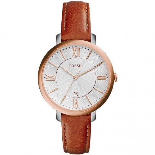 Fossil Ladies Brown Leather Jacqueline Watch ES3842
