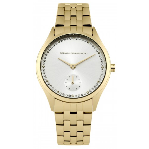 French Connection Louisa Ladies Gold Watch FC1272GM