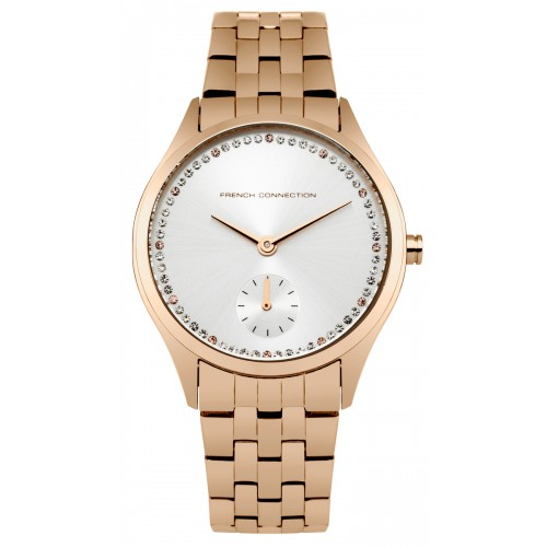 French Connection Louisa Ladies Rose Gold Watch FC1272RGM