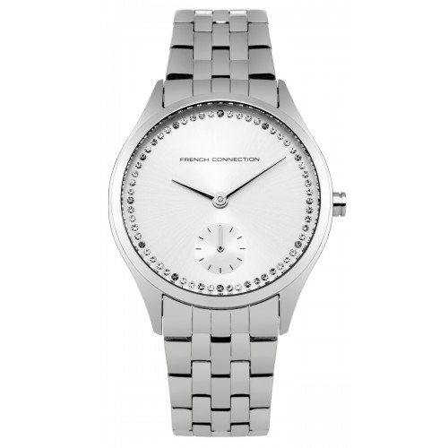 French Connection Louisa Ladies Silver Watch FC1272SM