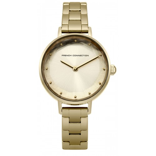 Frenc Connection Lillie Ladies Gold Watch FC1275GM