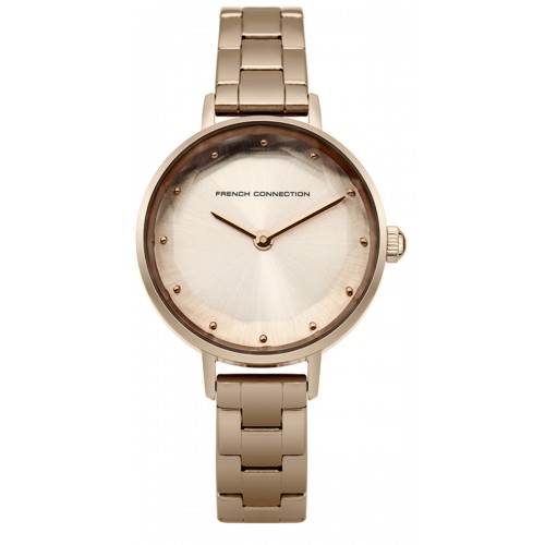 Frenc Connection Lillie Ladies Rose Gold Watch FC1275RGM