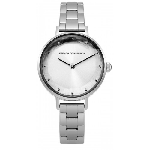 Frenc Connection Lillie Ladies Silver Watch FC1275SM