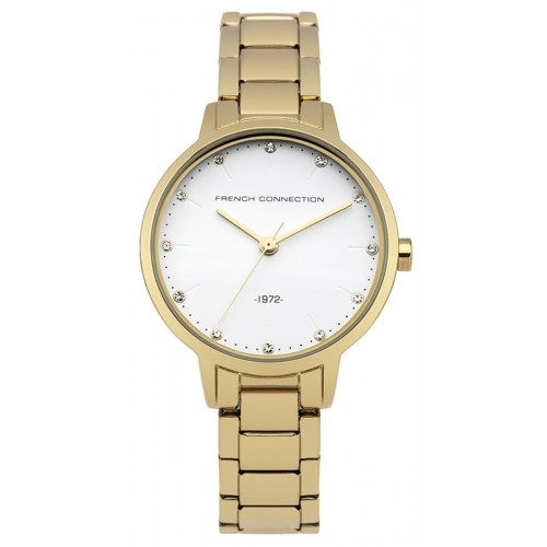 French Connection Newgate Ladies Gold Watch FC1281GM