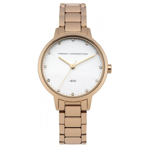 French Connection Newgate Ladies Rose Gold Watch FC1281RGM