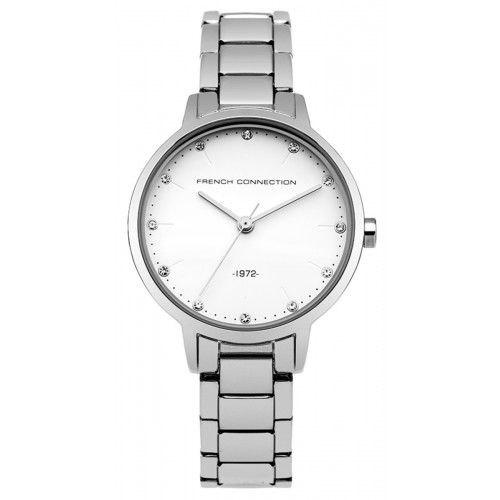 French Connection Newgate Ladies Silver Watch FC1281SM