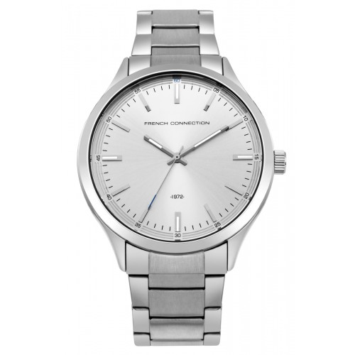 French Connection Mens Stainless Steel Watch FC1287SM