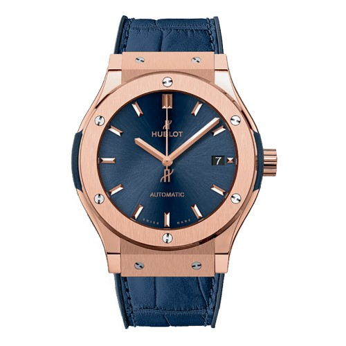 Hublot Classic Fusion King Gold Blue 541.OX.7180.LR