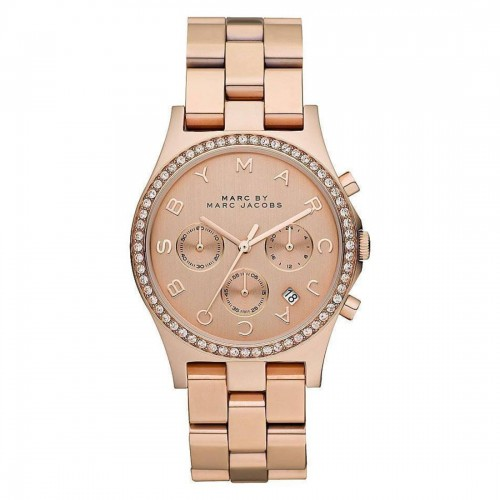 Marc Jacobs Ladies Glitz Henry Watch MBM3118