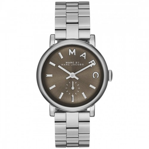 Marc Jacobs Ladies Silver Baker Watch MBM3329