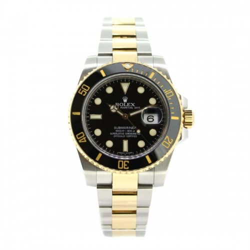 Rolex Mens Gold & Silver Submariner 116613LN