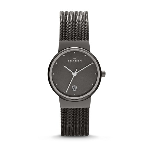 Skagen Ladies Ancher Silver Watch 355SMM1