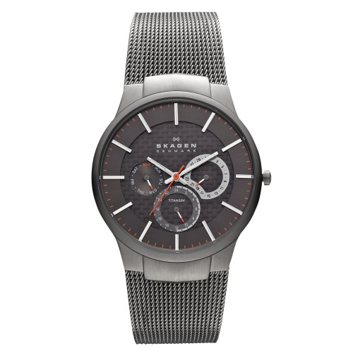 Skagen Mens Aktiv Titanium Grey Watch 809XLTTM