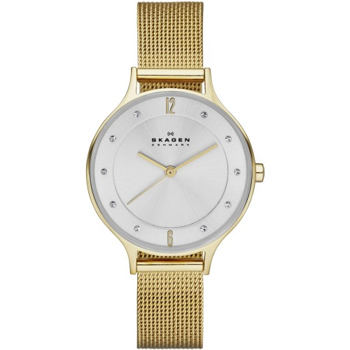Skagen Ladies Anita Gold Watch SKW2150
