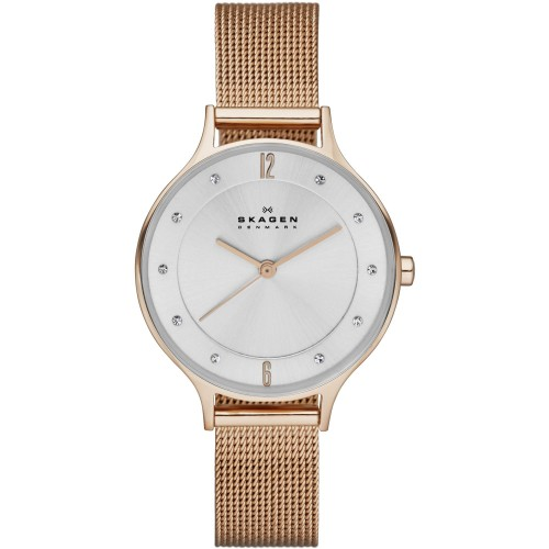 Skagen Ladies Anita Rose Gold Watch SKW2151